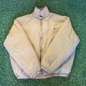 🏇Polo Ralph Lauren Khaki Puffer Jacket